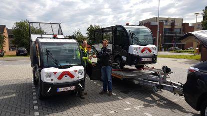 Nieuw elektrisch voertuig voor gemeentearbeiders