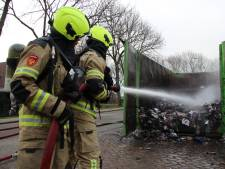 Middelburgse papiercontainer twee keer in één nacht geblust
