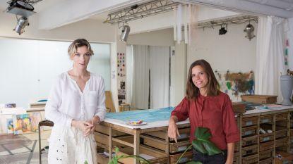 Showroom BMW Juma voor het eerst gebruikt als expositieruimte: kunsttentoonstelling Hara   Flux geeft de aftrap