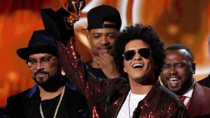 Bruno Mars grote winnaar Grammy Awards 2018: ontdek hier alle winnaars