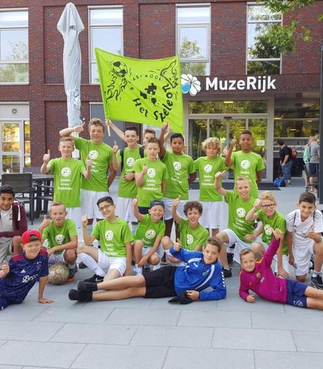 Speleon Uden zesde op NK schoolvoetbal