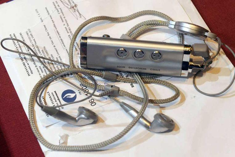 MP3-speler (AFP) Beeld