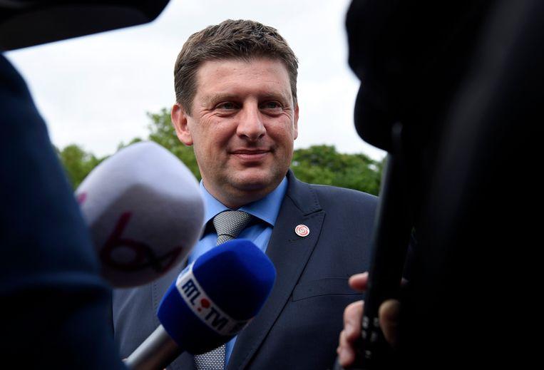 John Crombez, voorzitter sp.a