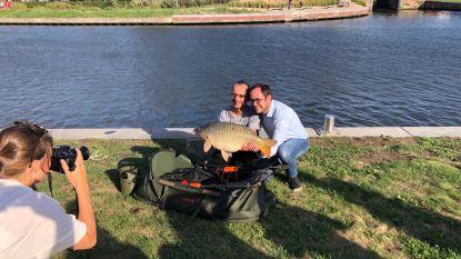 Wat een kanjer! Visser vangt reuzekarper van 9,6 kg