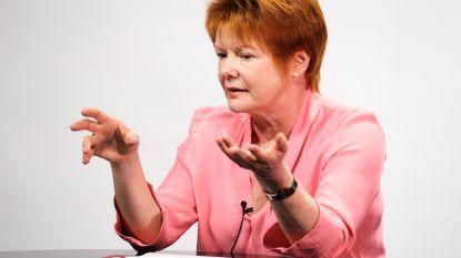 """Karin Jiroflée (sp.a): """"Straffe quotes? Neen, dank u. Ik wil kunnen zeggen dat ik gedaan heb waarvoor ik ben verkozen"""""""