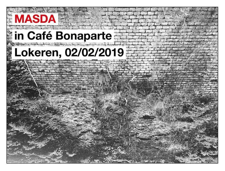 De postrockband Masda treedt zaterdag op in café Bonaparte.