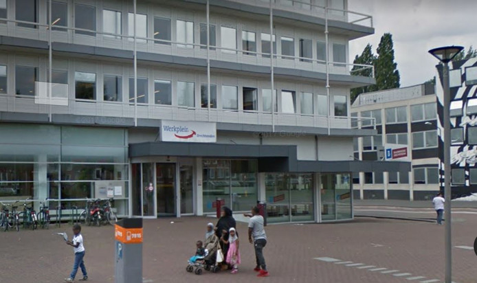 Entree van de Sociale Dienst Drechtsteden in Dordrecht