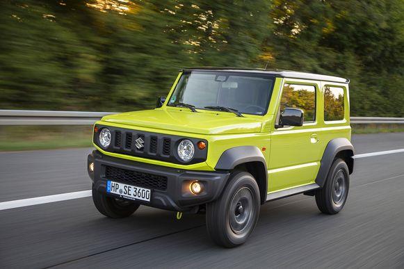 Suzuki  kan de vraag naar hun Jimny niet bijhouden. Ook de nieuwe Europese regelgeving inzake CO2-uitstoot zorgen ervoor dat slechts een beperkt aantal ervan in ons land zal verkocht worden.