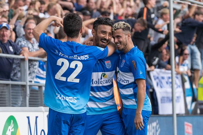 Reza Ghoochannejhad scoorde zondag vier keer voor PEC.