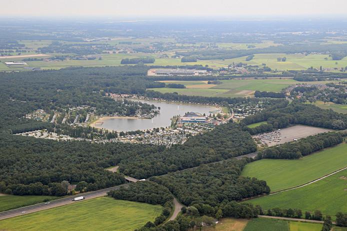 Het Prinsenmeer in Ommel.