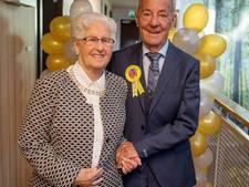 Piet en Mieke vieren hun diamanten jubileum driedubbel