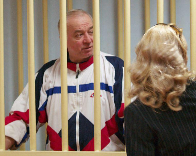 Archieffoto van Sergei Skripal.