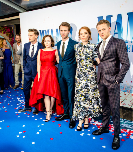 Mamma Mia! Here We Go Again in première in Amsterdam
