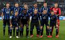De teamfoto van Atalanta Bergamo voor de finale.