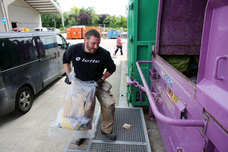 Het recyclagepark van Herne blijft vandaag uitzonderlijk gesloten door de extreme hitte. (Beeld ter illustratie) .