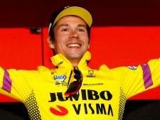 Primoz Roglic frappe d'entrée au Tour d'Italie