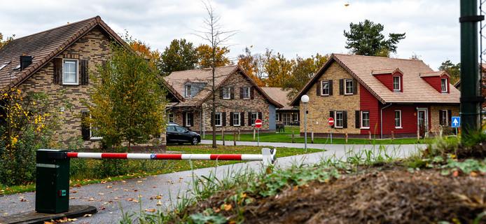 Exterieur van vakantiepark de Weerterbergen. Op het bungalowpark hebben de recentelijk opgepakte terrorismeverdachten wapeninstructies gekregen ter voorbereiding van een aanslag.