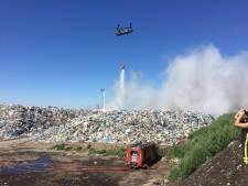 Chinooks hebben effect op brand bij Twence en worden opnieuw ingezet