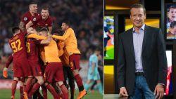 """Commentator Peter Morren maakt tweede 'remontada' mee in één jaar tijd: """"Uitzinnige Roma-fans zal ik niet snel vergeten"""""""