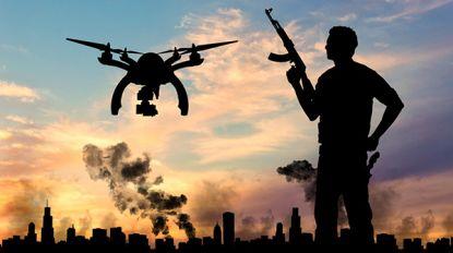 Voor terreurbestrijders begint een droneaanslag een reëel scenario te worden