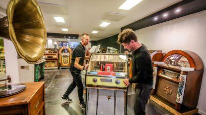 Jukeboxen komen aan in nieuw museum