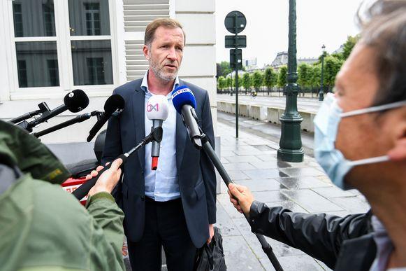 PS-voorzitter Paul Magnette.