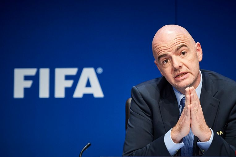 FIFA-voorzitter Gianni Infantino. (archieffoto)