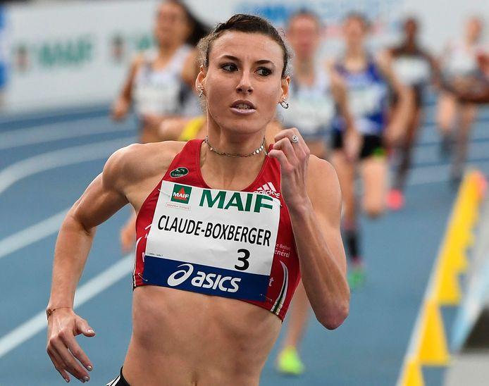 Ophélie Claude-Boxberger tijdens een wedstrijd eerder dit jaar.