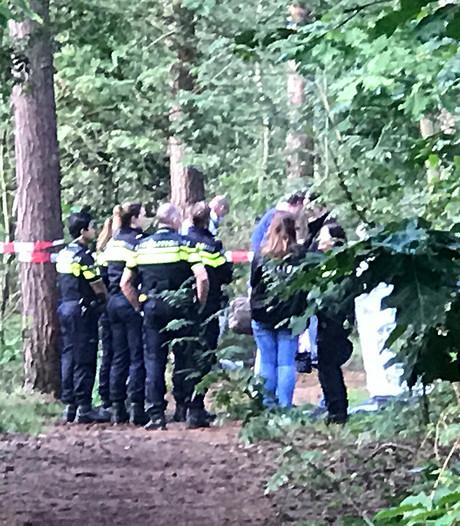 Stoffelijk overschot in bosgebied Bergen op Zoom afgevoerd: geen aanwijzingen voor misdrijf