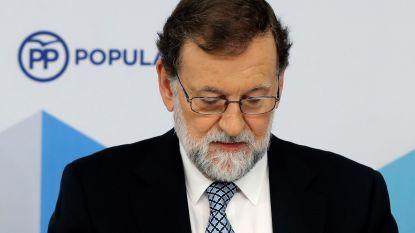 Rajoy stapt op nu ook als leider van Spaanse Partido Popular