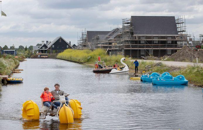 Veenendaal-Oost, een uit drie wijken bestaand bouwproject waar rond de 3000 woningen komen.