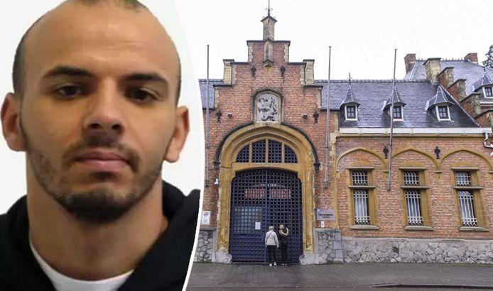Oualid Sekkaki s'est évadé de la prison de Turnhout avec quatre autres détenus le 19 décembre dernier.
