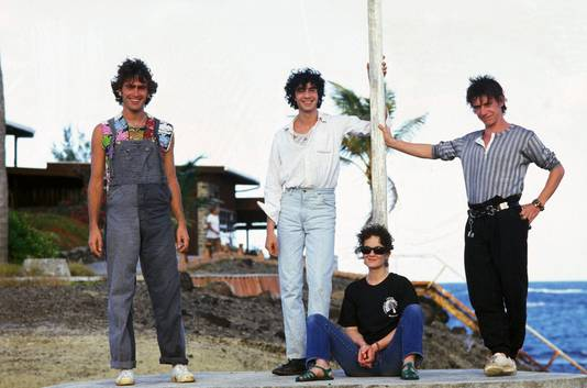 Avec Téléphone, en Guadeloupe, en 1985