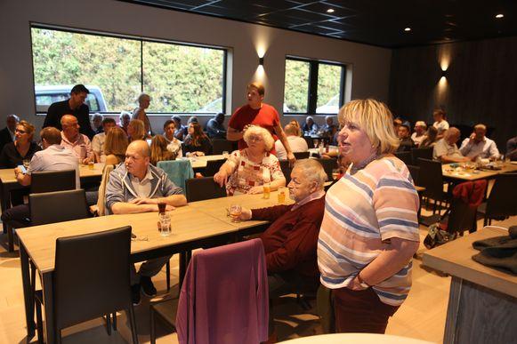 In Rodenem verzamelden de kandidaten van sp.a om samen te vernemen dat de partij er een zetel op vooruitgaat.