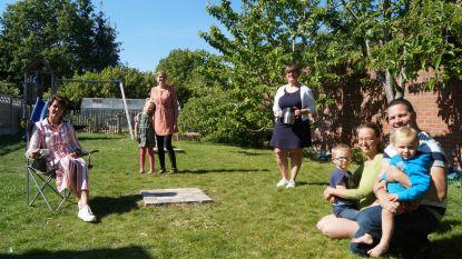 """Hans en Aurélie openen hun tuintje voor wie er zelf geen heeft: """"Kleine moeite voor ons, groot plezier voor gezinnen"""""""