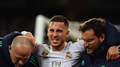 Herstel verloopt trager dan verwacht: Eden Hazard ten vroegste eind januari opnieuw op het veld bij Real Madrid