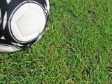 DOSKO'32-speler Thijs Berendsen heeft na dertien minuten een loepzuivere hattrick te pakken