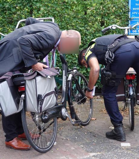 Fietsen gestolen uit stalling onder stadhuis van Barneveld