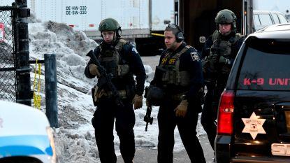 Vijf doden bij schietpartij op industrieterrein in de buurt van Chicago