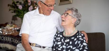 Jan (91) en Klaartje (86) van der Haar-Winter uit Rijssen gaan nog samen naar de gym