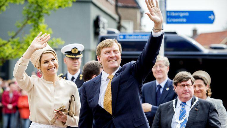 Koningin Máxima en koning Willem-Alexander. Beeld anp