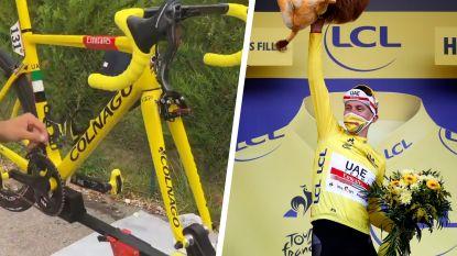 """LIVE TOUR. Speciale fiets voor Tourwinnaar Pogacar, Froome feliciteert de jonge Sloveen: """"Fenomenaal gereden"""""""