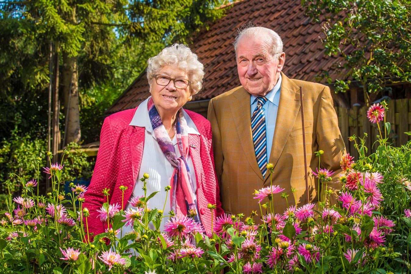 Echtpaar Wassink 65 jaar getrouwd