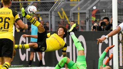 Witsel opent zijn rekening in de Bundesliga met knappe halve omhaal