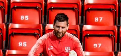 Messi lijkt op tijd fit voor duel met Real Betis