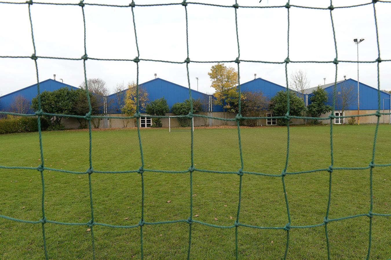 De Tennishal aan de Sportlaan in Boxmeer.