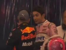 Verstappen geeft Ocon een duw bij confrontatie na GP van Brazilië