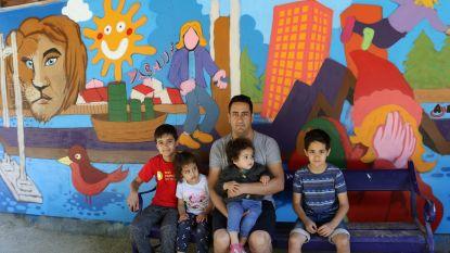 Nieuw graffitiwerk kleurt Stadspark