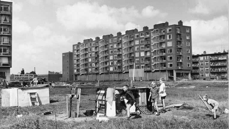 Multatuliweg, Bos en Lommer (jaartal onbekend) Beeld Stadsarchief