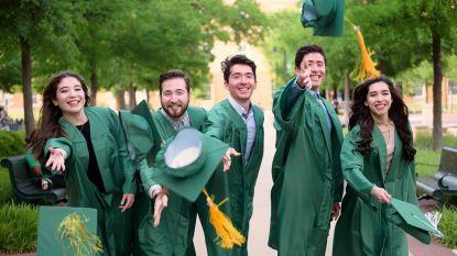 Vijfling studeert samen af (in 5 verschillende opleidingen)